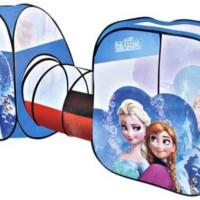 Tenda Terowongan Mandi Bola Frozen. Mainan Anak Rumah Rumahan