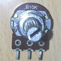 S5096 B10K Mono Potensiometer Alpha Original KODE YT5096
