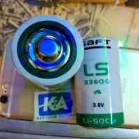 Baterai battery Lithium Size D LS33600 LSH20 3.6v 3.6 volt Saft