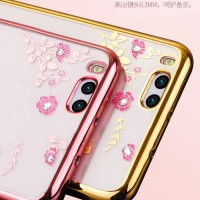 Xiaomi Mi6 Mi 6 soft case casing hp cover ultra thin bumper TPU Flower