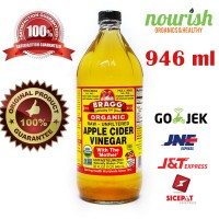Bragg, Organic Apple Cider Vinegar with The 'Mother', Raw-Unfiltered (