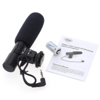 Plugandpay - Mic Kamera DSLR Sidande Shotgun Microphone Murah - MIC 01