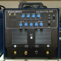 Mesin las AC/ DC TIG / Argon merk Stahlwerk TIG-200 AC/DC