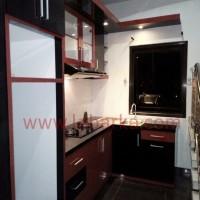 Kitchen Set Mewah Warna Hitam di Semarang