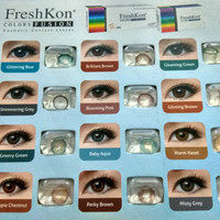 [PROMO] softlens Freshkon color fusion untuk mata sensitif READY MINUS