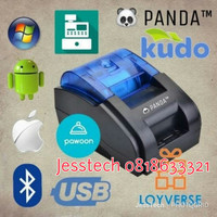 PRINTER STRUK BLUETOOTH USB ANDROID PPOB THERMAL 58MM