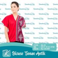 Blouse Tenun / Blus Tenun / Baju Atasan Batik Tenun Etnik Antik VII