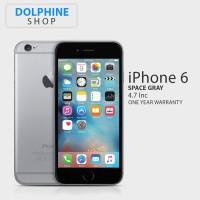 APPLE IPHONE 6 16GB GRAY GSM GARANSI 1 TAHUN hp , handphone termurah