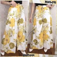 Celana Panjang Pende Wanita Celana Kulot Asifa Yellow [Celana Rok