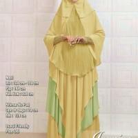 Baju Muslim Wanita 119279 SYARI JASMINE KUNING Gamis Trendy