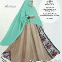 Baju Muslim Wanita 10904 CHANELA SYARI 4 TOSCA Gamis Trendy