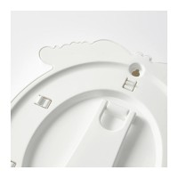 Ikea Kvill ~ Bingkai Foto Dekorasi  Oval, Putih, 13x18C Diskon