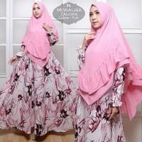 Busana Muslim Murah [Syari monalisa Zalora Pink TL] gamis wanita