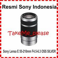 SONY Lens E 55-210mm f4.5-6.3 OSS ( SEL 55-210) SILVER