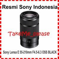SONY Lens E 55-210mm f4.5-6.3 OSS ( SEL 55-210) BLACK