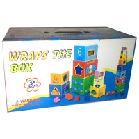 Mainan Anak Kayu WRAPS THE BOX ( wooden toys )