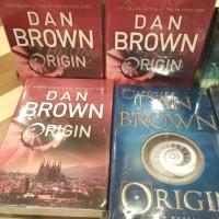 NOVEL TERBARU Dan brown origin books Origin Robert Langdon #5