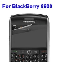 LCD Screen Protector for BlackBerry 8900 , With Anti-Glare - Transp