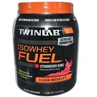 Murrmerr01 Twinlab Iso Whey Fuel Strawberry-Kiwi 2 Lb Protein Otot Oke