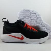 Sepatu Basket Nike Zoom Lebron 11 Witness Black White Red Replika Impo