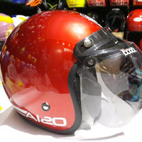 LIMITED EDITION helm bogo aizo original red marun RECOMENDED