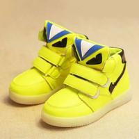 Fendi lamp shoes / sepatu lampu led anak import