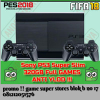 ps3 super slim original reforbish hd 320gb komplit