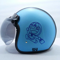 Helm Retro Motif Spongebob Domo Hello Kitty Minion Doraemon dll