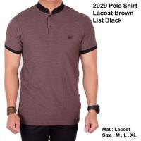 harga Polo Shirt Pria Lengan Pendek / Baju Kaos Kerah Sanghai Abu Pendek Tokopedia.com