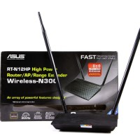 Asus RTN12HP Wireless Router Extender Access Point WiFi RTN-12HP N12H