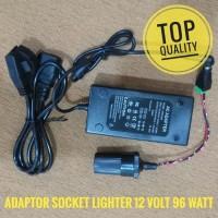 Power Supply Adaptor 220V to 12V - 24 Volt DC 5A Socket Lighter Mobil