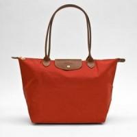 Longchamp Le Pliage Tote Bag Large Red