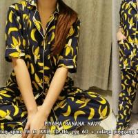 Harga piyama banana baju tidur import polos pakaian tidur modern promo | Pembandingharga.com
