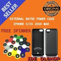 External Battery Power Case iPhone 5 / 5s 2500mAh