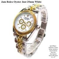 JAM TANGAN WANITA / PRIA ROLEX OYSTER STAINLESS WHITE GOLD