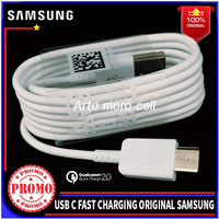Kabel Data Samsung Galaxy A8 A8+ 2018 ORIGINAL 100% Fast Charge USB C