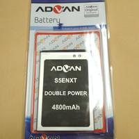 Baterai Advan S5ENXT/S5E NXT/Double power/Ori/Battrey/batrai/batre hp