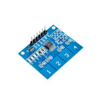 TTP224 4 key touch induction IC touch sensor module