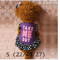 minidress anjing kucing take me out size S *D7