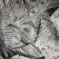 Silica Gel Natural 3x4cm isi 1000 sachet