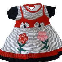 Baju Bayi Lucu Perempuan (umur 3 - 9 bulan)