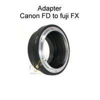 Adapter Canon FD ke kamera FUJI FX