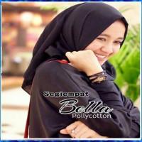Jilbab Segiempat Polycotton /Jilbab Segiempat Bella Square