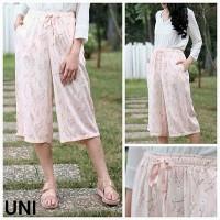Branded BomFash - Celana Kulot Wanita - Bahan Katun - Model Terbaru