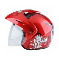 WTO Helmet Kids Pet Gundam 3 Merah Helm Anak