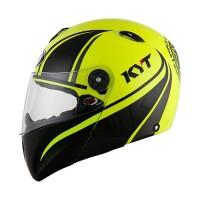 KYT X Rocket Retro #2 Helm Full Face - Yellow
