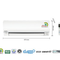 AC Panasonic R32 CS/CU-KN9SKJ 1PK Low watt Unit Only