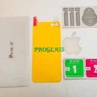 Iphone 5/5s/se BACK Cover CLEAR TPU Film Protector / Antigores Premium