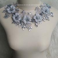 headpiece hijab simple 2in1  / wedding headpiece ajeng