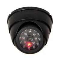 Replika CCTV Kamera Pengawas Tiruan Palsu Fake Dummy Lampu Led Kedip